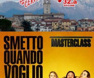 Festival: Smetto quando voglio - Masterclass