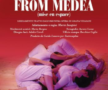 Locandina: FROM MEDEA (mise en espace)*
