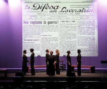 Lucilla Galeazzi e Maria Rosaria Omaggio in prima nazionale al Teatro Vascello