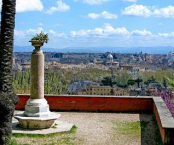 Passeggiata storico-culturale del colle del Gianicolo, scendendo in direzione di Trastevere