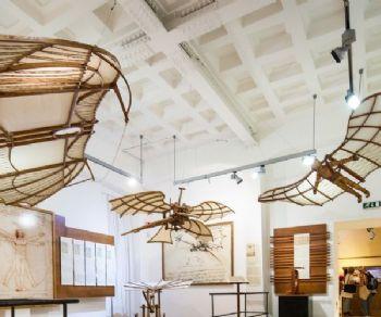 Mostre - Due nuove attrazioni alla Mostra di Leonardo al Palazzo della Cancelleria