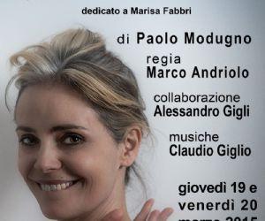 Galatea Ranzi torna in scena al Teatro Palladium