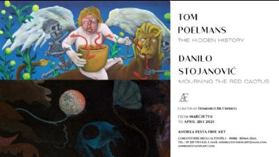 Gallerie - Double solo show_ Tom Poelmans & Danilo Stojanovic
