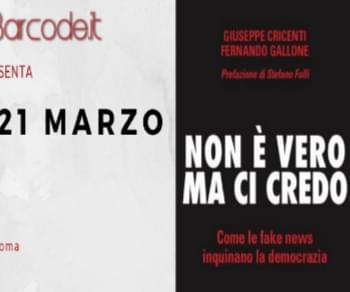 Presentazione del libro di Giuseppe Cricenti e Fernando Gallone