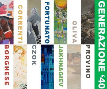 Mostra collettiva dedicata a sette artisti nati negli anni '40