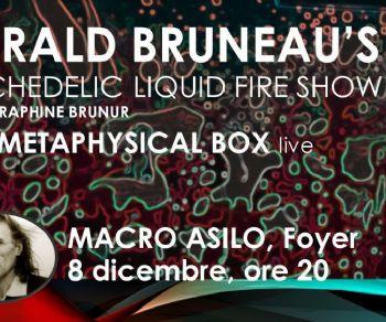 Spettacoli - Gerald Bruneau's Psychedelic Liquid Fire Show