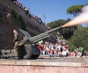 Bambini e famiglie - Il Gianicolo di Garibaldi e lo sparo del cannone di mezzogiorno