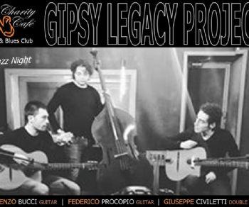 Locali: Gipsy Legacy Project in concerto al Charity Café