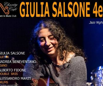 Locali - Giulia Salsone Quartet in concerto al Charity Café