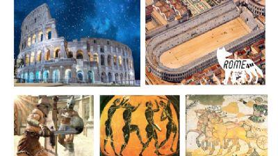 Bambini e famiglie - I Gladiatori del Colosseo, lo Sport e i Giochi nell'antica Roma
