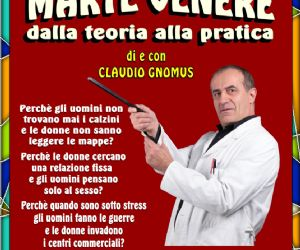 Claudio Gnomus ritorna con il suo nuovo spettacolo