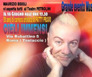 Omaggio a Patty Pravo con Maurizio Bidoli
