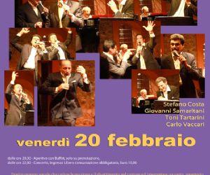 4 voci e 1 pianoforte al Teatro Arciliuto