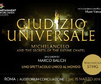 Spettacoli - Giudizio Universale e i segreti della Cappella Sistina