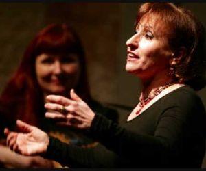 Spettacolo di Lucilla Galeazzi e il gruppo vocale Levocidoro