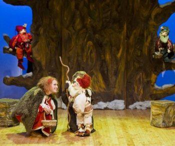 Bambini - Tre omini nel bosco (dalla fiaba dei fratelli Grimm)