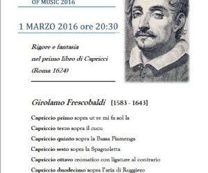 Frescobaldi International Festival of Music