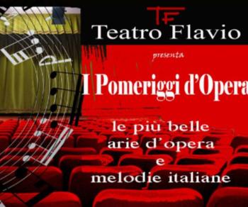 Concerti: I Pomeriggi d'Opera