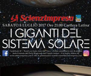 Altri eventi: I Giganti del Sistema Solare