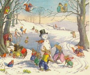 Bambini e famiglie - Un teatro tutto per me - Il bianco pupazzo di neve