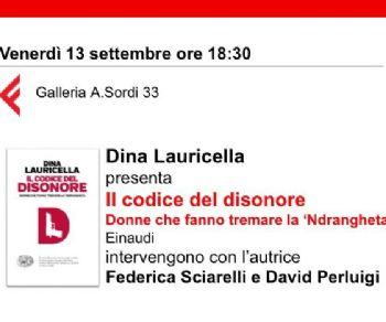Presentazione del libro di Dina Lauricella