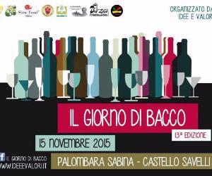 Torna la sagra del vino a Palombara Sabina ed è festa