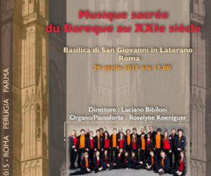 Concerto del coro fondato nel 2001 da Philippe Utard