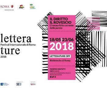 Festival - Letterature. Festival Internazionale di Roma 2018