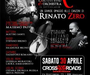 Renato Zero omaggio con orchestra