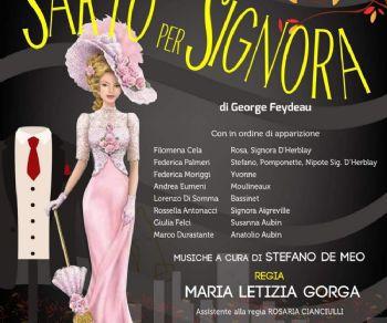 La celebre commedia di George Feydeau in scena al teatro Trastevere