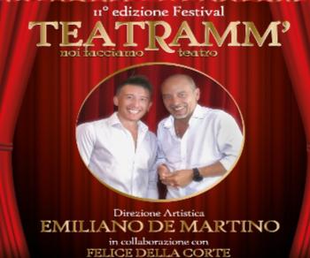 """Altri eventi: TEATRAMM' ossia """"noi facciamo il teatro = noi teatriamo"""""""
