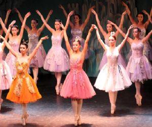 Uno spettacolo della prima compagnia privata bulgara di balletto classico