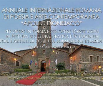 Mostre - L'Annuale Internazionale Romana Apollo dionisiaco