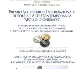 """Premio e Mostra Internazionale di Poesia e Arte Contemporanea """""""