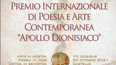 Mostre - Poesia e Arte dal mondo. Apollo dionisiaco Roma 2021 celebra la rinascita della vita