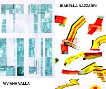 Mostrea di Isabella Nazzarri e Viviana Valla. Due artiste, due stili, due linguaggi pittorici differenti