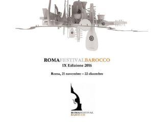 Concerti: IX Edizione Roma Festival Barocco