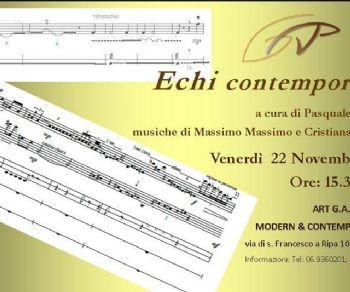 Concerti - Echi Contemporanei
