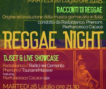 Concerti: REGGAE NIGHT / Racconti di Reggae + DJ Set & Live