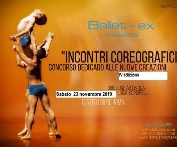 Spettacoli - Incontri coreografici
