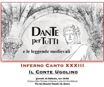 Lettura e commento dell'Inferno Canto XXXIII