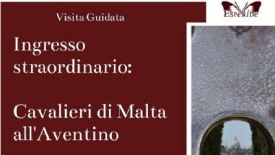 Visite guidate - Ingresso straordinario: i Cavalieri di Malta all'Aventino