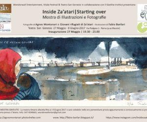 Mostre: Inside Za'atari|Starting over