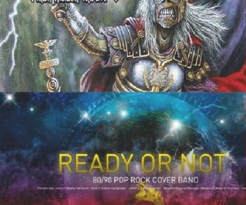 Locali - Invaders (Iron Maiden Tribute) + Ready or Not