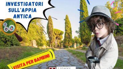 Visite guidate: Piccoli investigatori sull'Appia Antica