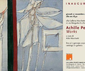 Gallerie - Achille Perilli, Works. Opere dal 1958 al 2008