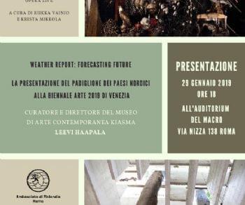 Altri eventi - Arte Finlandese a Roma - Gennaio 2019