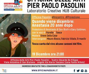 Tosca canta live la colonna sonora del film e a seguire proiezione gratuita