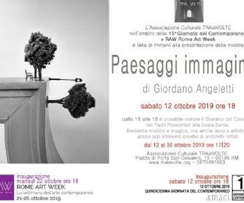 Mostre - Paesaggi Immaginari di Giordano Angeletti