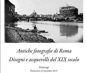 Il tema della mostra è vedute ottocentesche di Roma